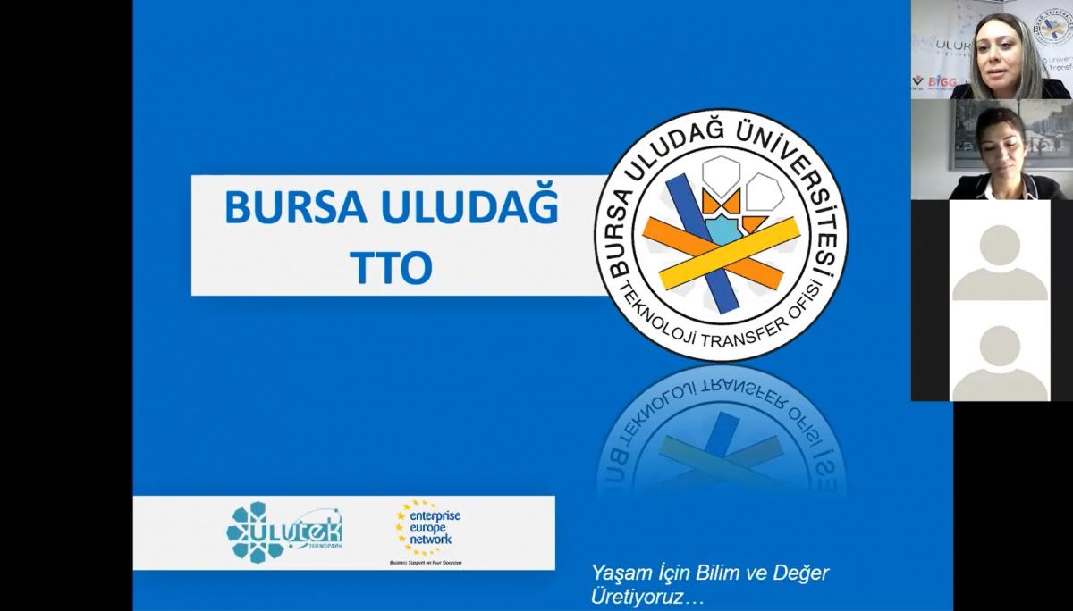 ULUTEK Teknopark ve Bursa Uludağ TTO işbirliği ile 'Patent' Eğitimi