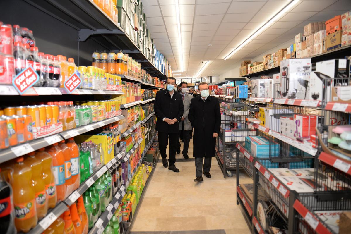 Görükle Kampüsü'nde ilk zincir market şubesi açıldı