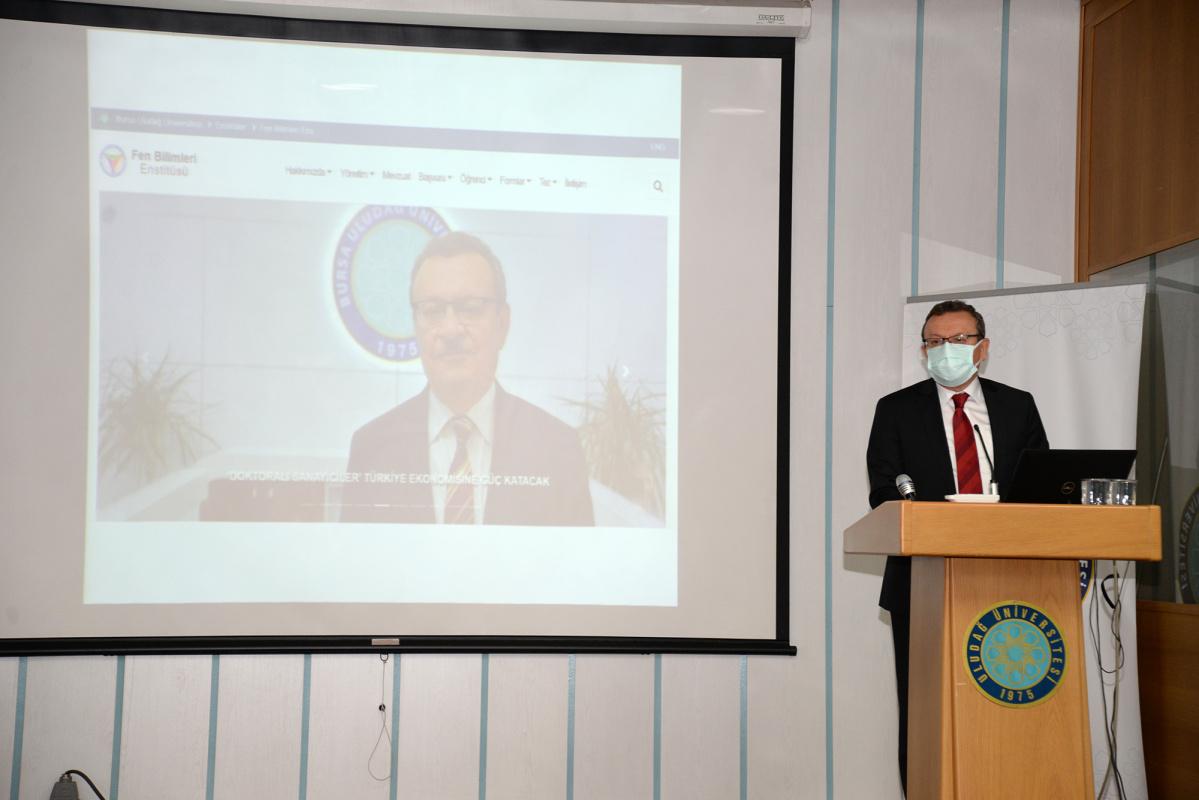 """""""Ülkemiz ve Bursa'mız için bilim üretmeye devam edeceğiz"""""""