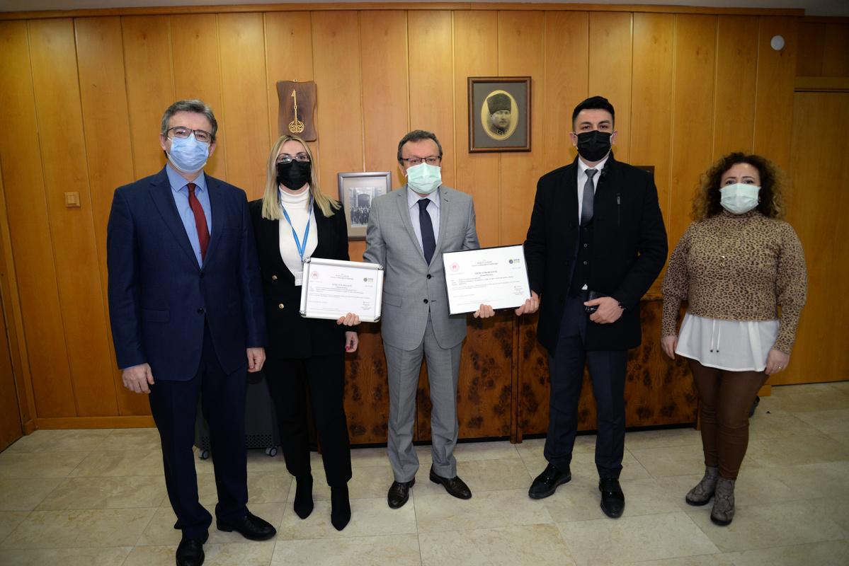 """Bursa Uludağ Üniversitesi """"Sıfır Atık Belgesi"""" almaya hak kazandı"""