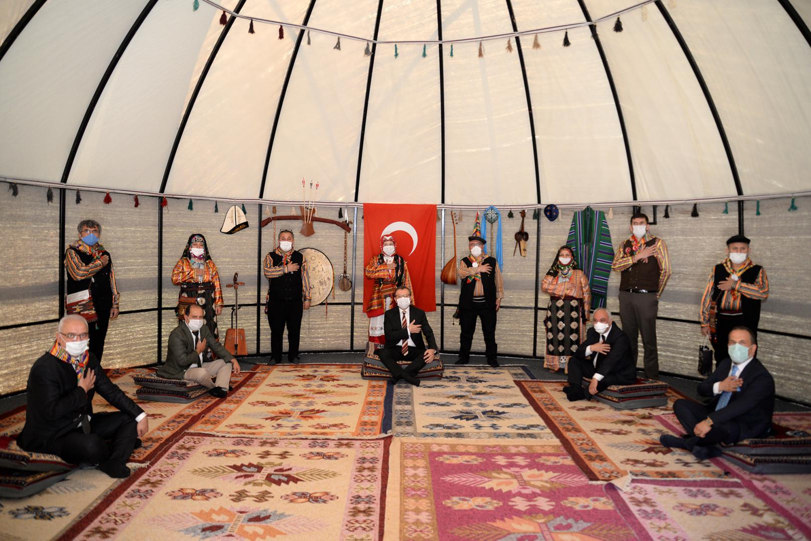 TÜDAM'a Okuma Salonu ve Türk Otağı kuruldu