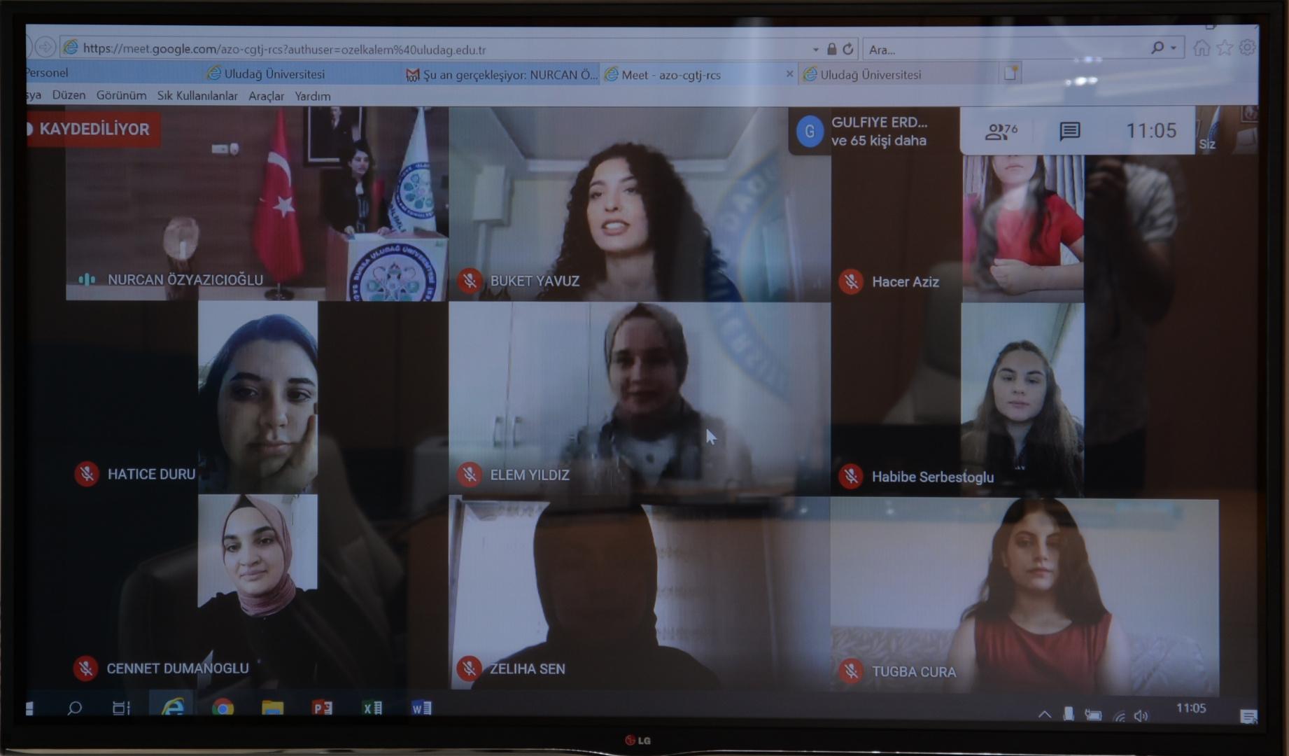 BUÜ'de 'Online Mezuniyet Törenleri' başladı