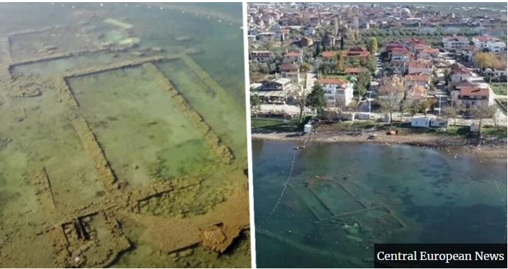 İznik Gölü'ndeki tarihi Kilise, İngiliz medyasına haber oldu