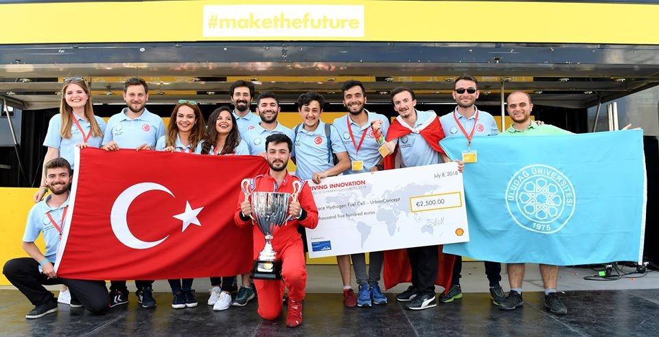 UMAKİT'li öğrenciler 'İnovasyon'da Avrupa'yı sallamaya devam ediyor