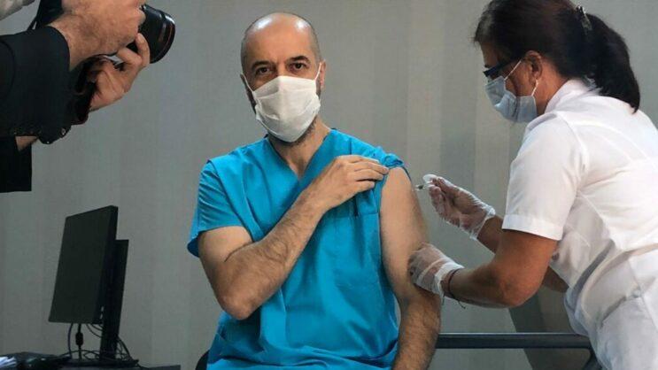BUÜ'de Covid-19 aşı denemelerine başlandı