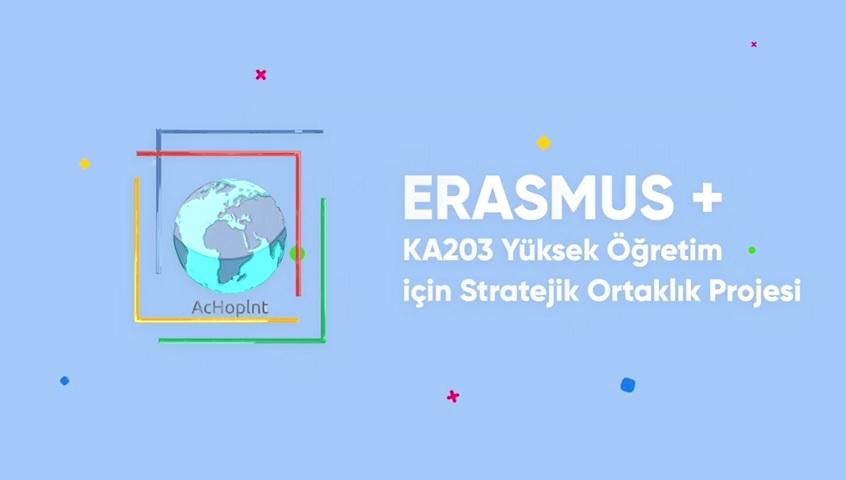 BUÜ KOORDİNATÖRLÜĞÜNDEKİ ACHOPINT, ERASMUS GÜNLERİ 2020 ETKİNLİKLERİNDE