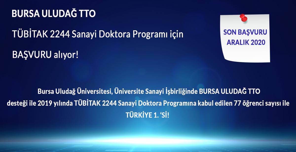 Application for TUBITAK Doctoral Program