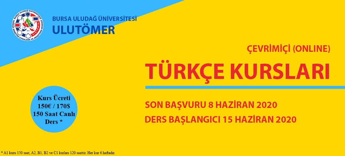 ULUTÖMER Uzaktan Türkçe Öğretim Programı başlıyor