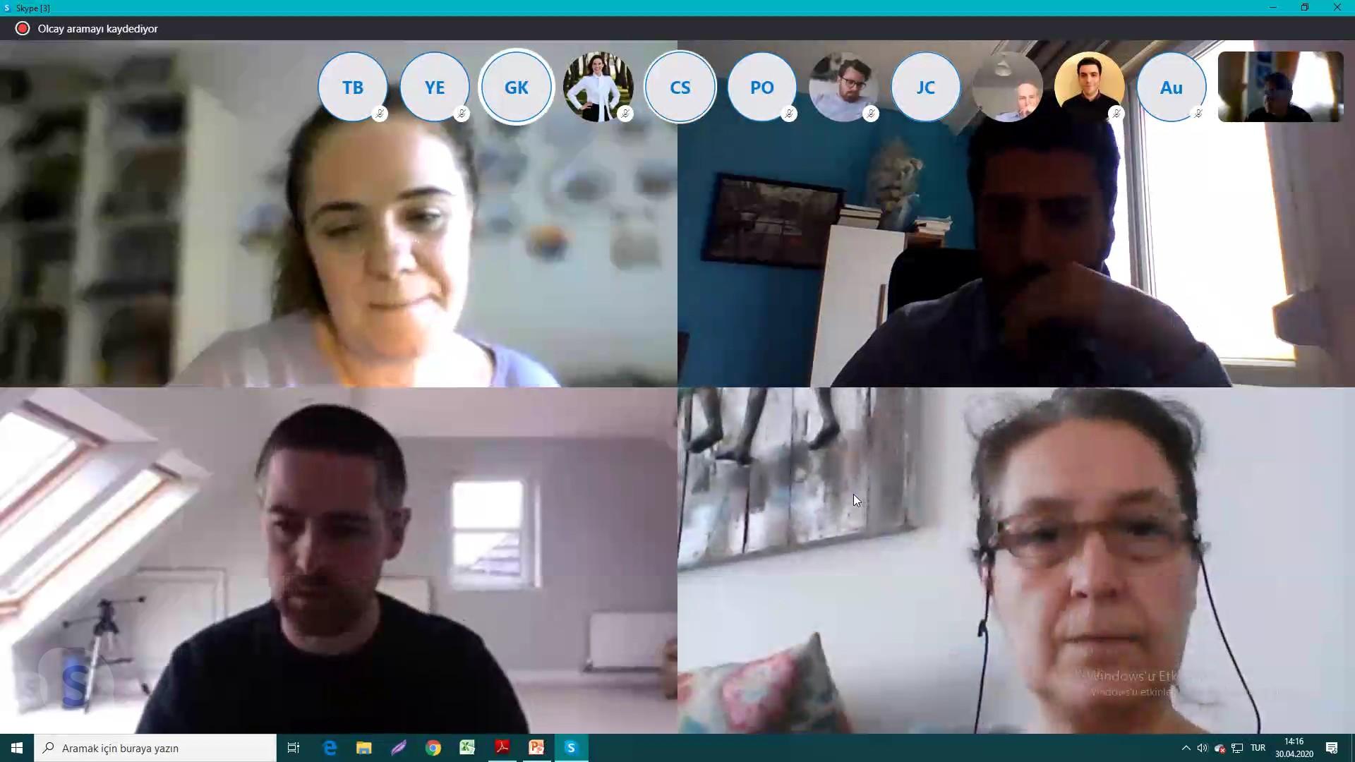 BUÜ Koordinatörlüğündeki Eramus + projes toplantısı online ortama taşındı