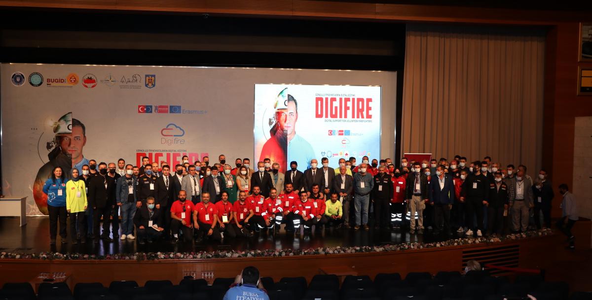Digi-FIRE projesine BUÜ'lü akademisyenlerden destek