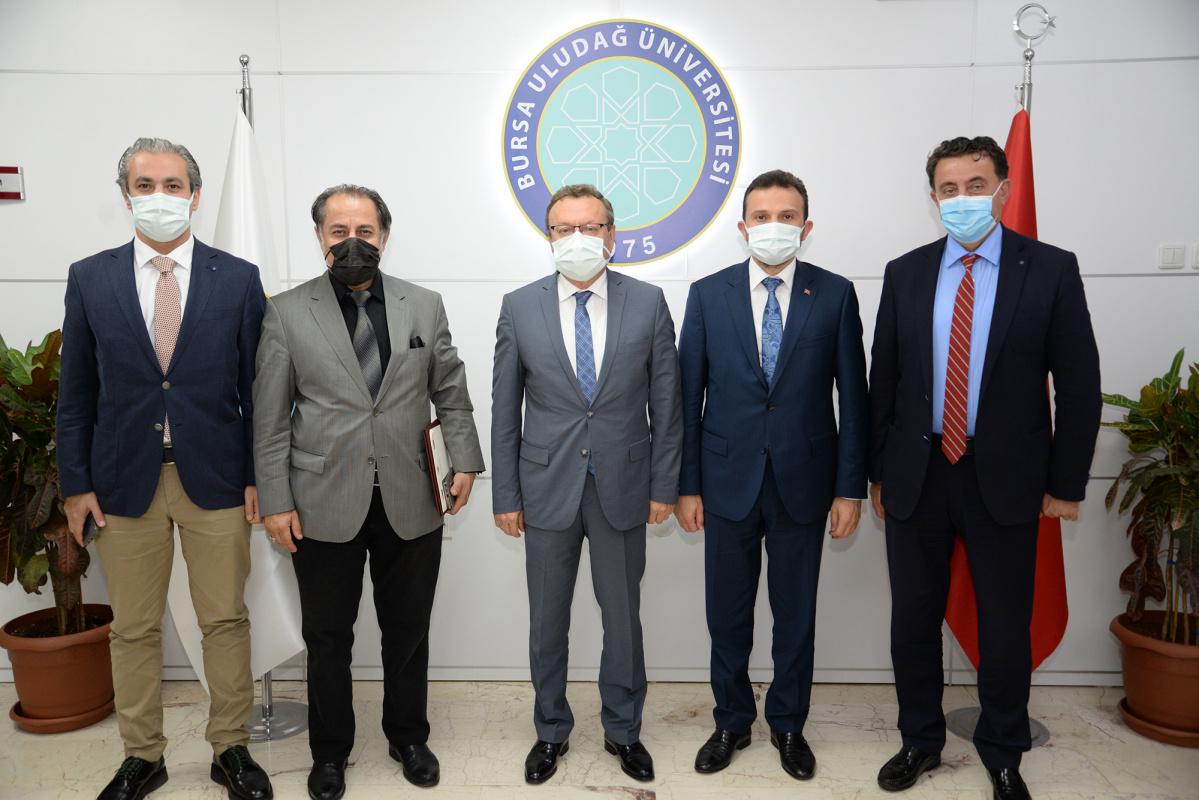 Türkiye Ulusal Ajansı Başkanı'ndan BUÜ'ye işbirliği ziyareti