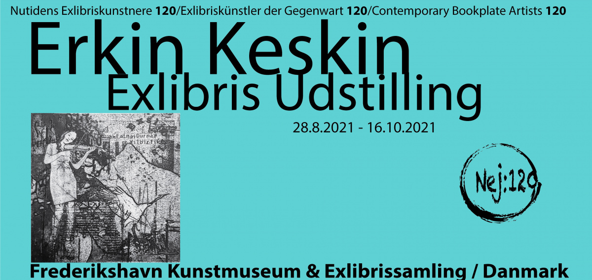 BUÜ'lü akademisyenin eserleri Danimarka'da sergilenmeye başladı