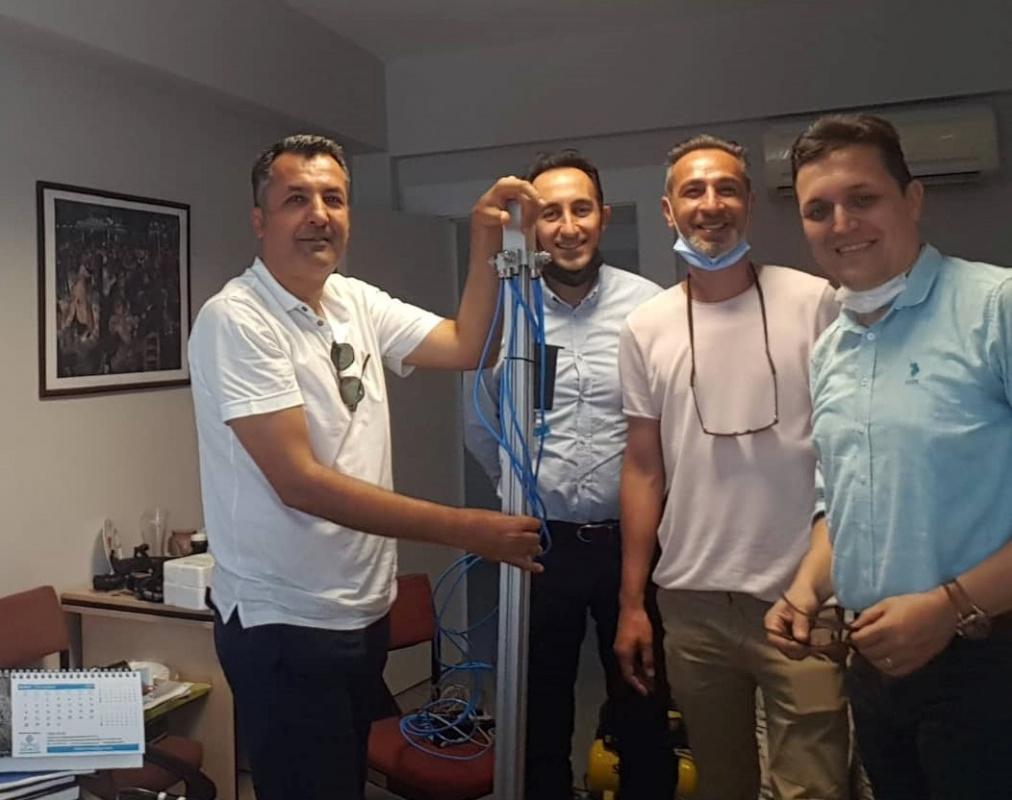Covid-19 mücadelesine Bursa Uludağ Üniversitesi'nin katkısı devam ediyor