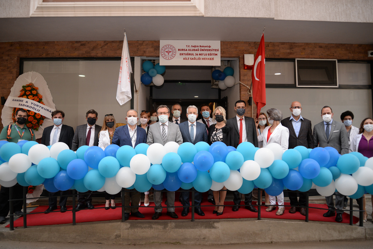 THE FIRST FAMILY HEALTH CENTER SERVED BY ACADEMICIANS OPENED