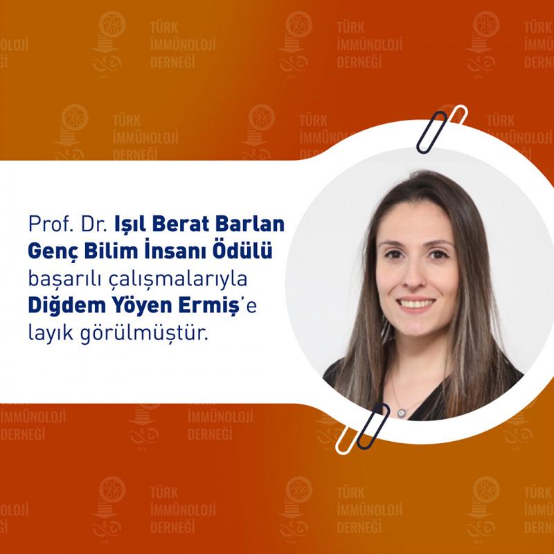 '2020 Genç Bilim İnsanı' ödülü BUÜ'lü akademisyene