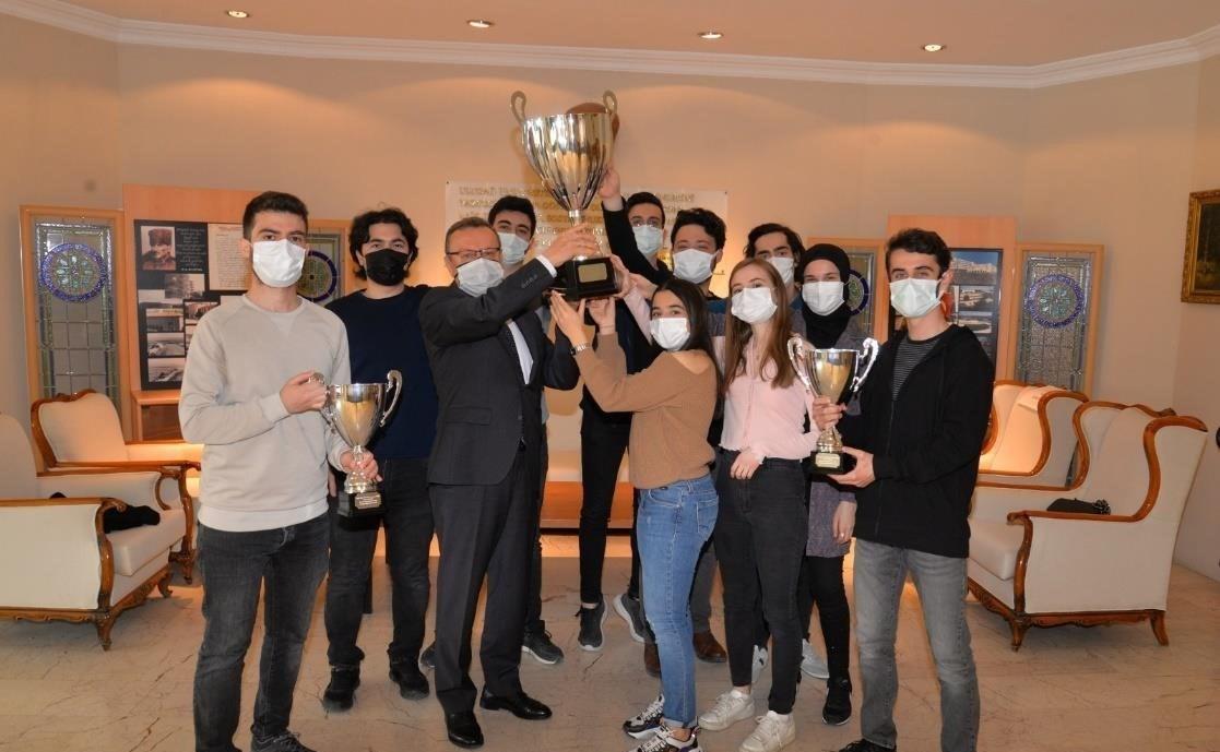 UMAKİT mühendisleri yine Avrupa Şampiyonu