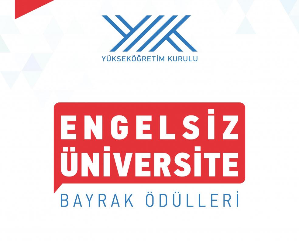 BUÜ, Engelsiz Üniversite Ödülleri'nde Turuncu Bayrak'a aday