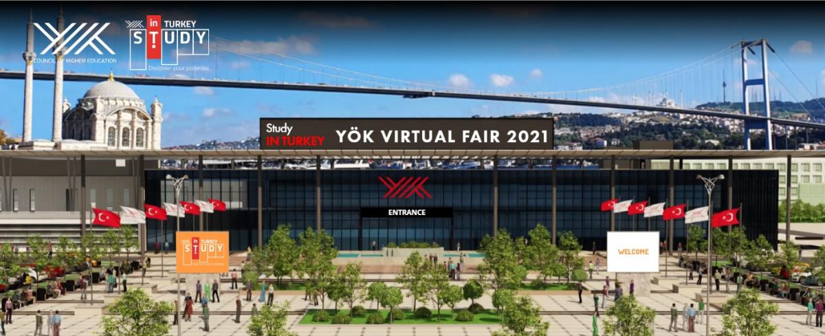 Study in Turkey YÖK Virtaul Fair 2021