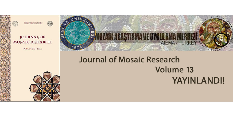 Journal of Mosaıc Research - 13. Sayı Yayınlandı!