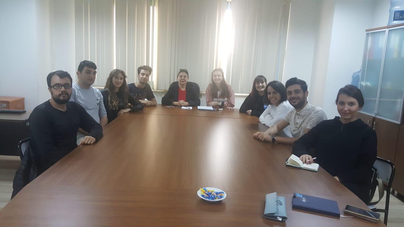Bursa Uludağ Üniversitesi Biyoloji Topluluğu (UBİT) toplandı