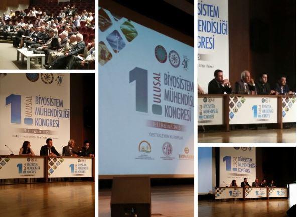 1.Ulusal Biyosistem Mühendisliği Kongresinde Öğrenci Oturumu yapıldı