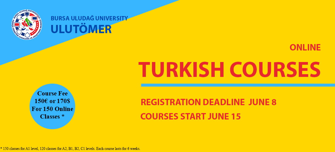 ULUTÖMER ONLINE TURKISH COURSES START ON 15TH OF JUNE!