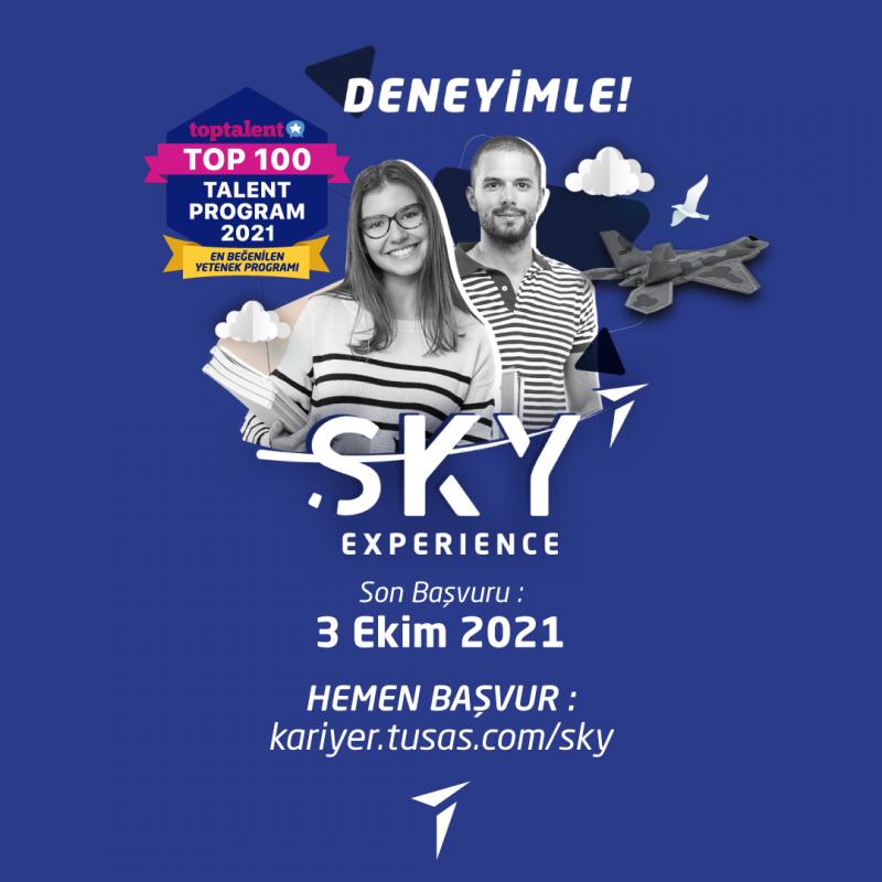 TUSAŞ Sky Experience Stajyer Mühendis Programı