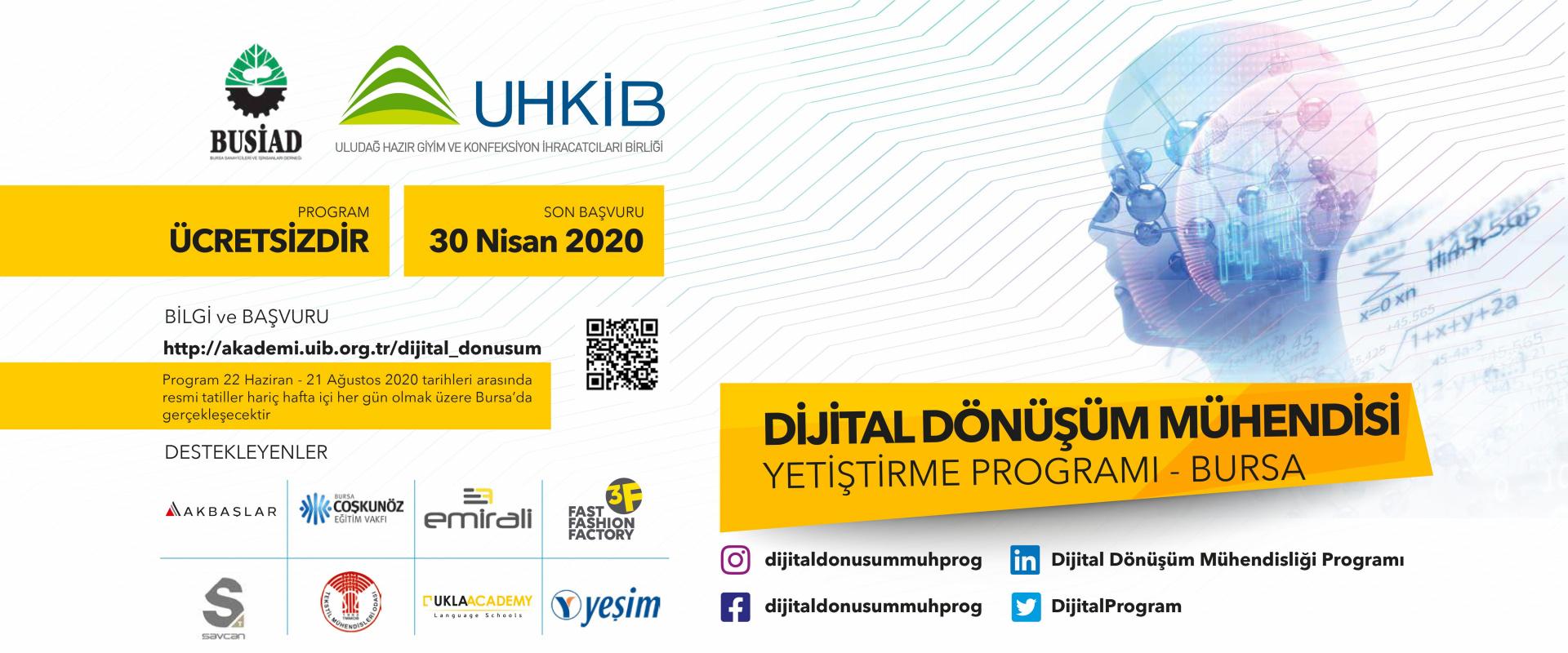 Dijital Dönüşüm Mühendisi Yetiştirme Programı