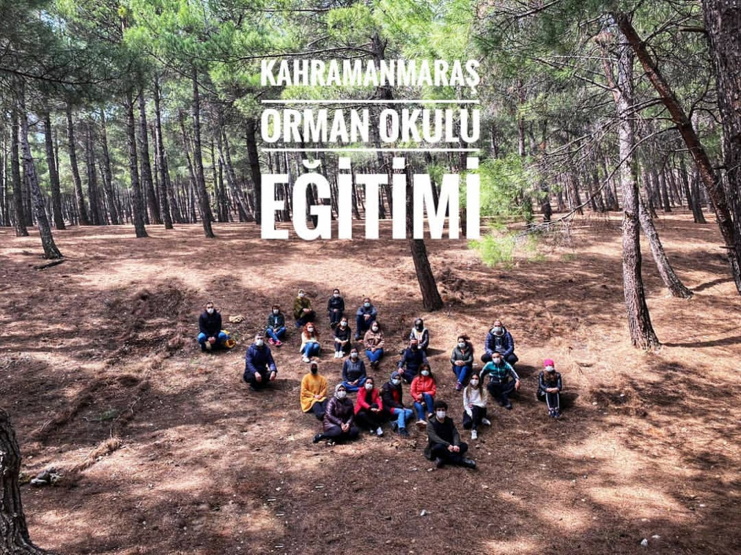 Kahramanmaraş'ta Orman Okulu Eğitimi Gerçekleştirildi