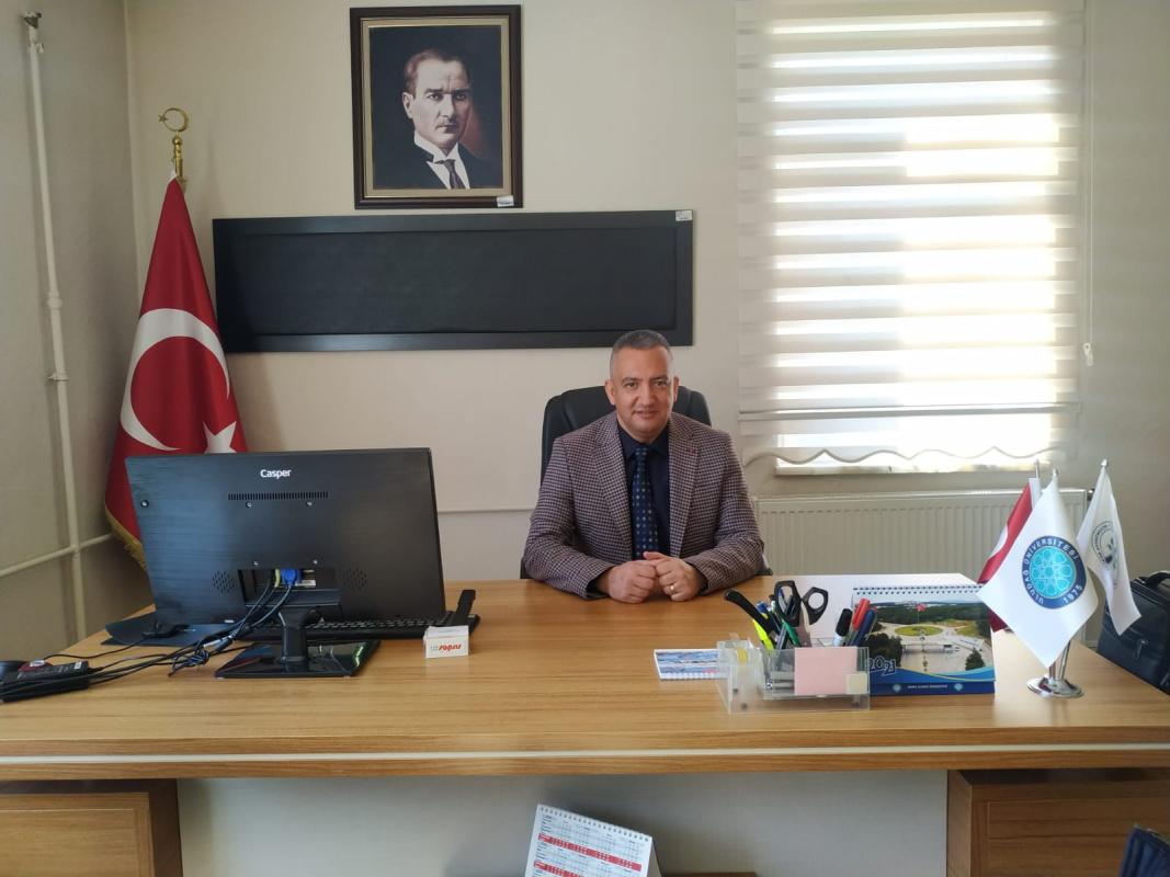 Yüksekokulumuz Müdürlüğüne Atanan Doç. Dr. Hüseyin OVALIOĞLU Göreve Başladı