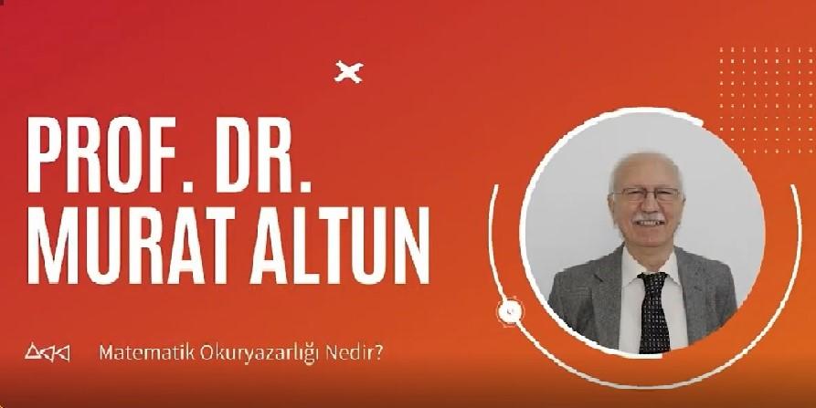 Prof. Dr. Murat ALTUN Hocamız Mühendislikte Matematik Eğitimi Kongresinde Çağrılı Konuşmacı olarak