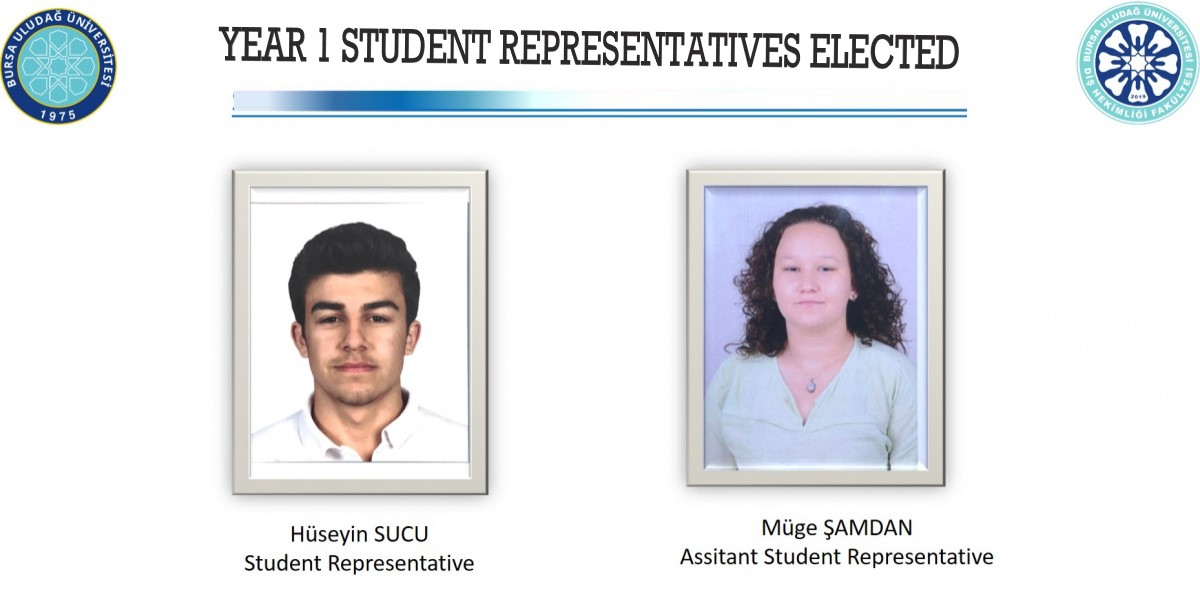 YEAR 1 STUDENTS' REPRESENTATIVES ARE ELECTED