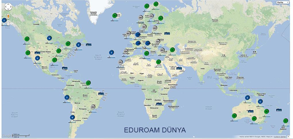 Uludağ Üniversitesi Eduroam