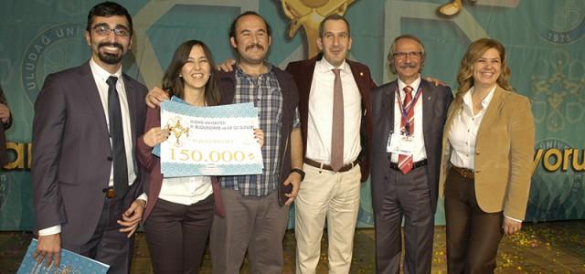 """Öğrencimizin Projesine """"İYİ FİKİR"""" Yarışmasında 150.000 TL Birincilik Ödülü"""