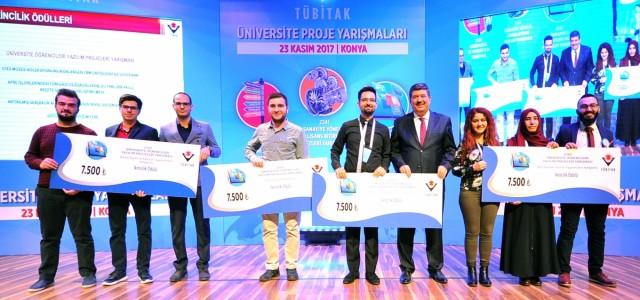 Öğrencilerimizin yazılım projesine ikincilik ödülü