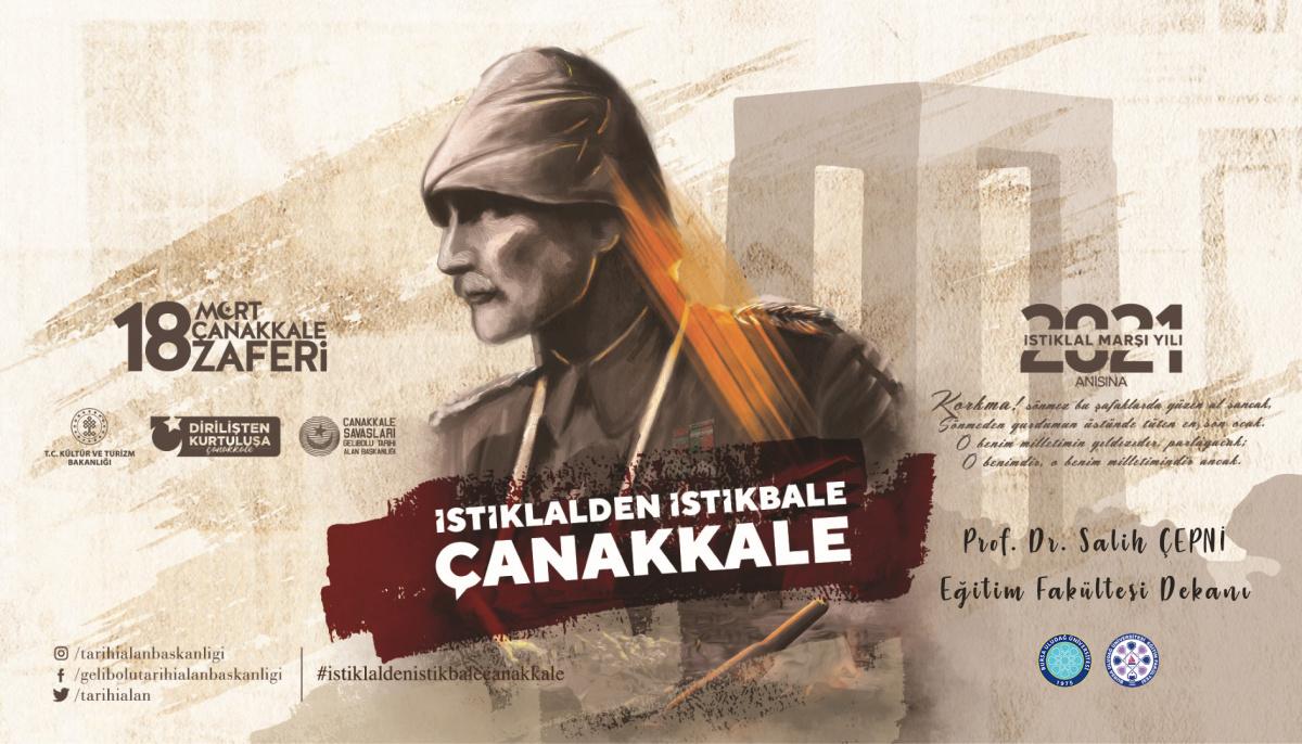 18 Mart Çanakkale Zaferi'nin 106. yıldönümü kutlu olsun