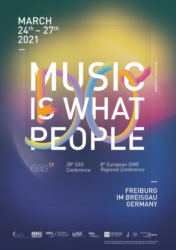 Avrupa Okul Müzik Eğitimi Birliği(EAS - European Association for Music in Schools) 2021 Haberleri