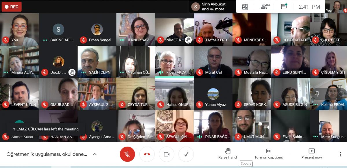 Öğretmenlik Uygulamalarına İlişkin Derslerin Değerlendirme Toplantısı