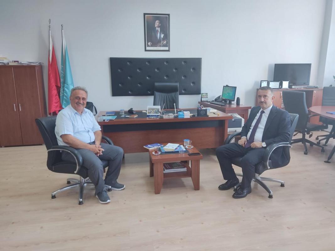 Bursa İl Milli Eğitim Müdürü Bülent Altıntaş'tan ziyaret