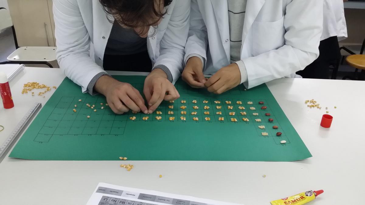 2019-2020 Güz Dönemi Fen Bilgisi Laboratuvar Uygulamaları I Dersinde Gerçekleştirilen Etkinlik Örnekleri