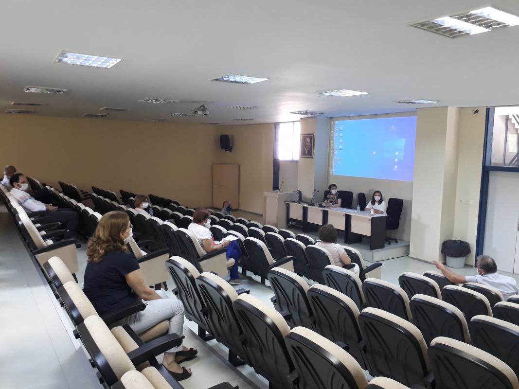 Anabilim Dalı Toplantısı Yapıldı. 29 Haziran 2020