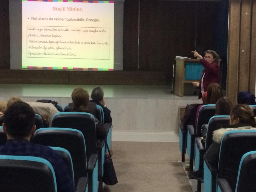 Doç. Dr. Nermin Bulunuz'dan Okullara Öğretmenlik Uygulaması Danışmanlığı Eğitimi
