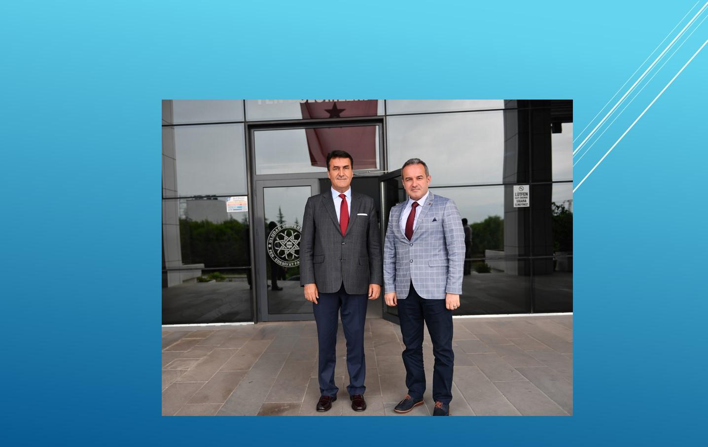 Başkan Mustafa Dündar'dan Dekanlığımıza Hayırlı Olsun Ziyareti