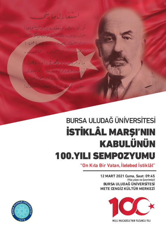 İstiklâl Marşının Kabulünün 100. Yılı Sempozyumu