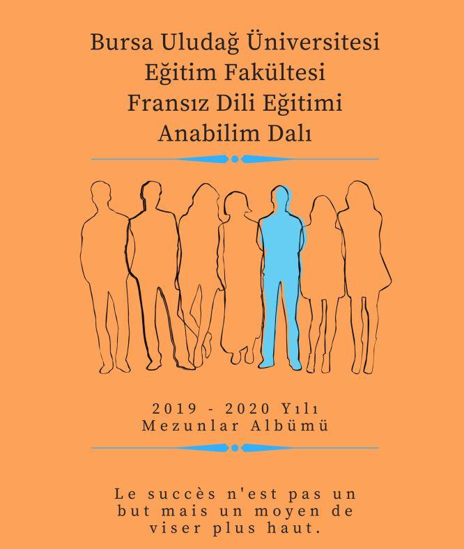 2019-2020 YILI MEZUNLAR ALBÜMÜ / ALBUM DES NOUVEAUX DIPLÔMÉS 2019-2020