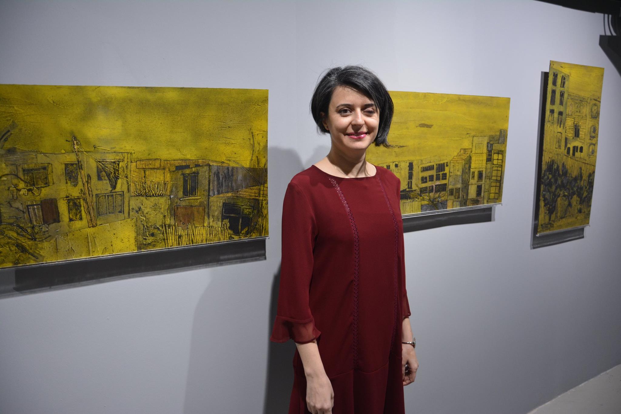 """Doç. Sezin Türk Kaya Kişisel Sergi """"Evlerin İnsan Halleri-Baskılar, Süreçler, Kalıplar'"""