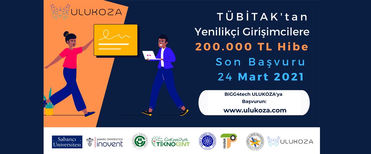 BiGG4tech ULUKOZA 2020 2. Çağrı Başvuruları Açıldı