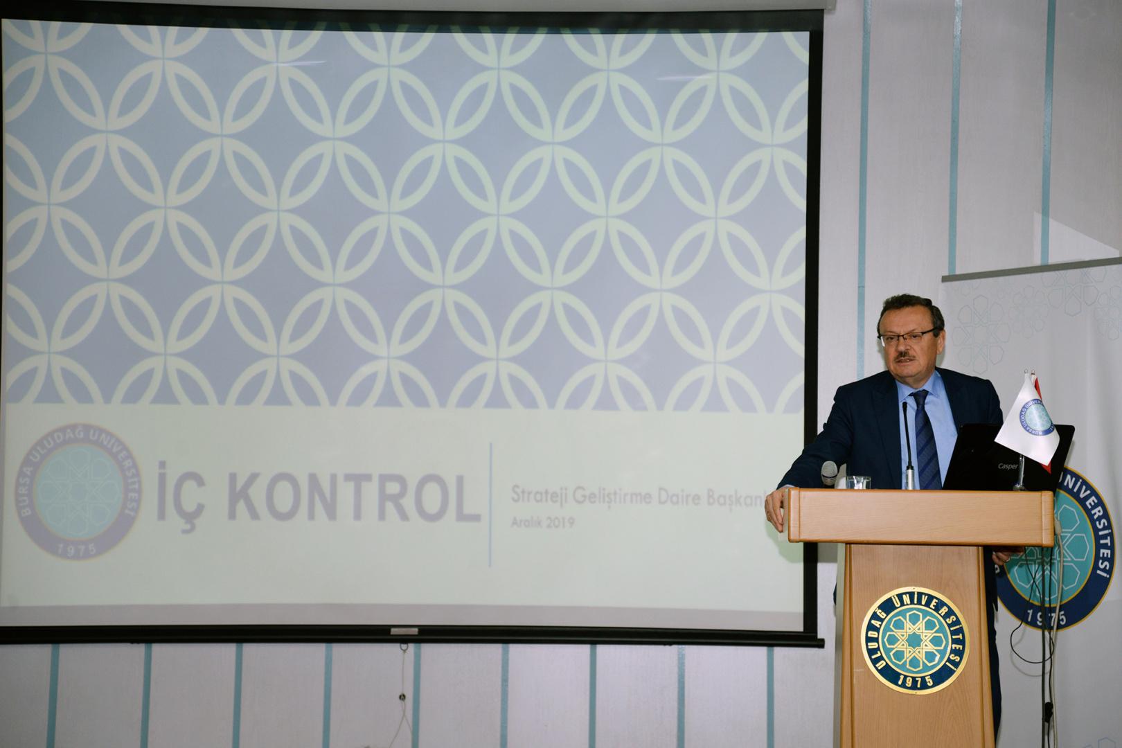 18 Aralık 2019 Tarihinde İç Kontrol İzleme ve Yönlendirme Kurulu toplanmıştır
