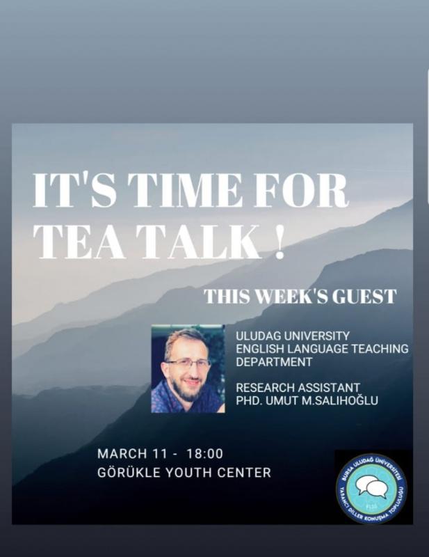 Yabancı Diller Konuşma Topluluğu : Tea Talks