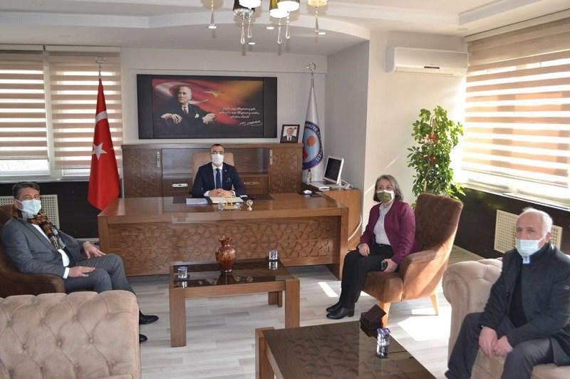 İlçe Kaymakamı Eren ARSLAN'a Hayırlı Olsun Ziyareti